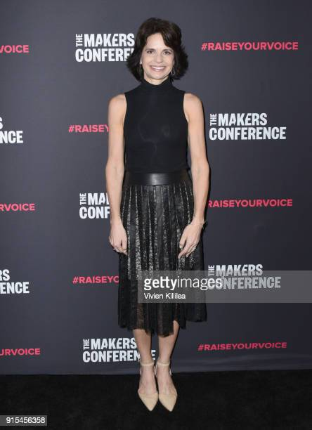 Founder and CEO Fast Forward Group Lisa McCarthy attends The 2018 MAKERS Conference at NeueHouse Hollywood on February 7 2018 in Los Angeles...