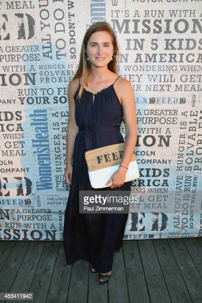 Founder and CEO FEED Lauren Bush Lauren attends Women's Health Hosts Hamptons 'Party Under The Stars' for RUN10 FEED10 at Bridgehampton Tennis and...