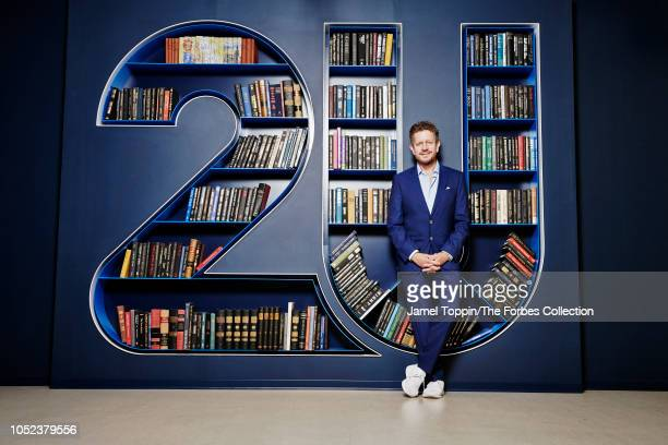 Founder and CEO of 2U Christopher 'Chip' Paucek is photographed for Forbes Magazine on August 7 2018 at company's headquarters in Lanham Maryland...