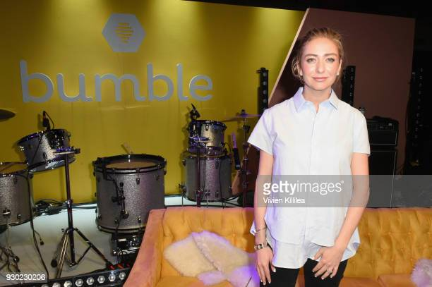 Founder and CEO of Bumble Whitney Wolfe attends Bumble Presents: Empowering Connections at Fair Market on March 10, 2018 in Austin, Texas.