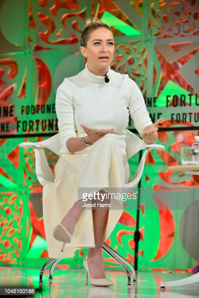 Founder and CEO of Bumble, Whitney Wolfe Herd attends Fortune Most Powerful Women Summit 2018 at Ritz Carlton Hotel on October 3, 2018 in Laguna...