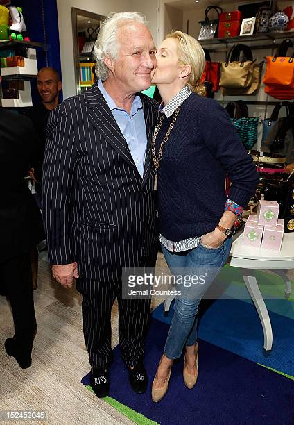 096c47d0d756 Founder and CEO of C Wonder Chris Burch and actress Kelly Rutherford during  the C Wonder