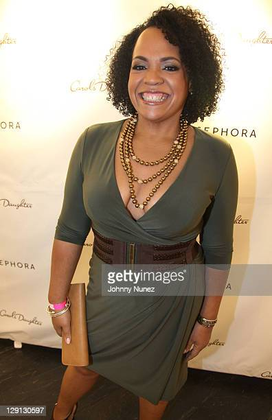 Founder and CEO of Carol's Daughter Lisa Price attends the Carol's Daughter Spokesbeauty Monoi Repairing Collection launch at Sephora on May 24 2011...