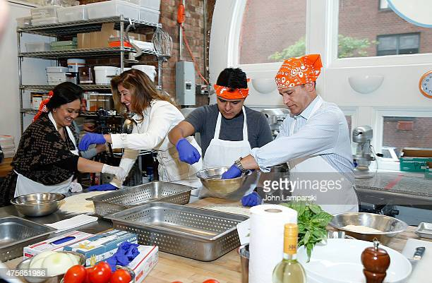 Founder and CEO of Creative Edge Parties Carla Ruben attends Big Brothers Big Sisters Of NYC summer cooking class at Creative Edge Parties on June 2...