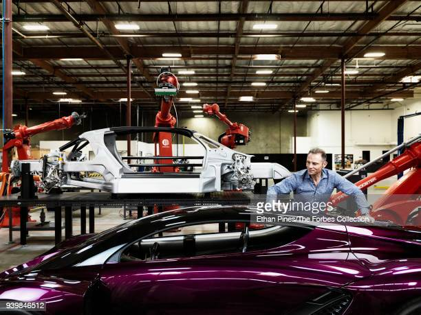 Founder and CEO of Divergent 3D Kevin Czinger is photographed for Forbes Magazine on October 27 2017 in Torrance California PUBLISHED IMAGE CREDIT...