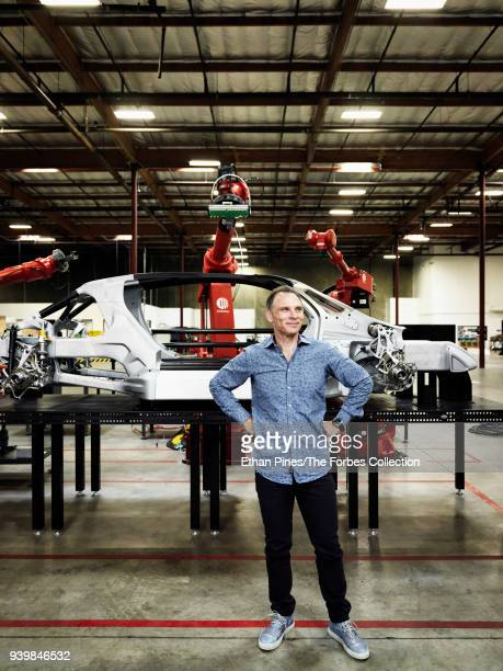 Founder and CEO of Divergent 3D Kevin Czinger is photographed for Forbes Magazine on October 27 2017 in Torrance California CREDIT MUST READ Ethan...