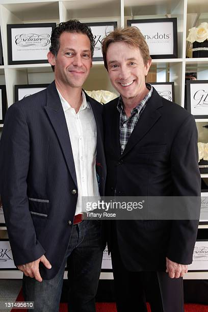 Founder and CEO of GBK Productions Gavin Keilly and actor Martin Short attend the GBK Golden Globe Gift Lounge at The London Hotel on January 15 2011...