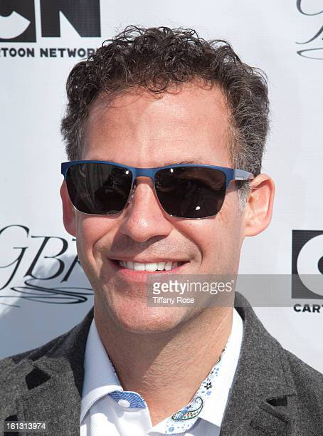 Founder and CEO of GBK Productions Gavin Keilly attends the GBK Cartoon Network's Official Backstage Thank You Lounge at Barker Hangar on February 9...