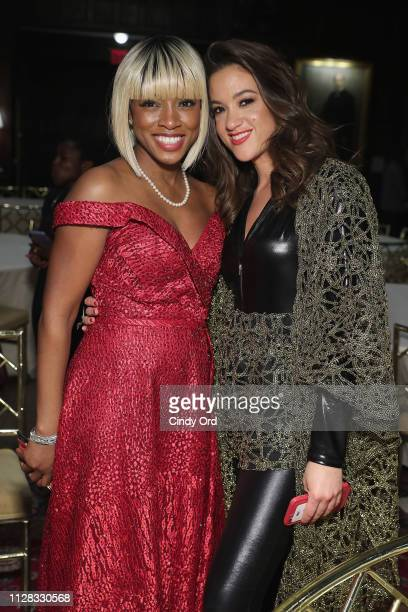 Founder and CEO of GC4W, Lilian Ajayi-Ore and Tennille Amor attend the GC4W Entrepreneurship Ball at The Harvard Club on March 1, 2019 in New York...