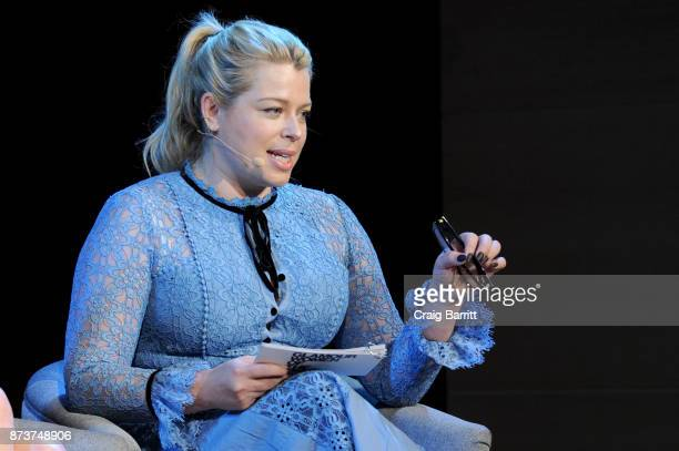 Founder and CEO of Girlgaze Amanda de Cadenet speaks onstage during Glamour Celebrates 2017 Women Of The Year Live Summit at Brooklyn Museum on...