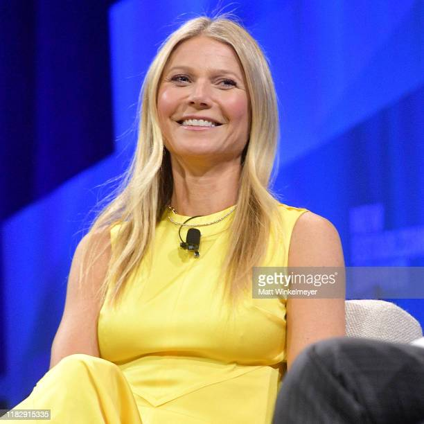 Founder and CEO of goop, Gwyneth Paltrow speaks onstage during 'The Rise of goop: Building a Tastemaking Empire' at Vanity Fair's 6th Annual New...
