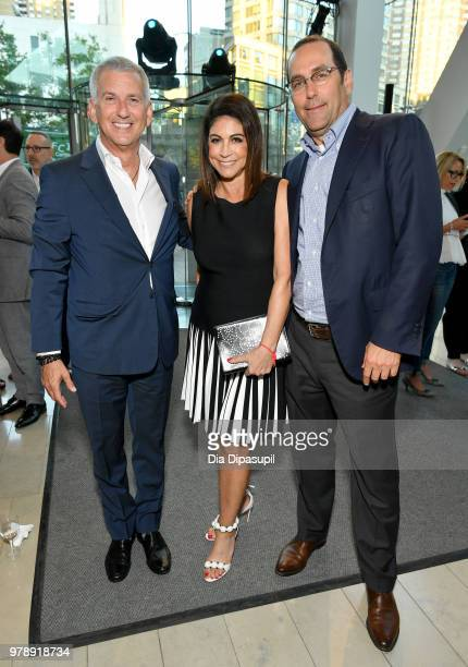 Founder and CEO of Greater Talent Network Don Epstein Founder and owner of Carolines Comedy Club Caroline Hirsch and EVP of Carolines Comedy Andrew...