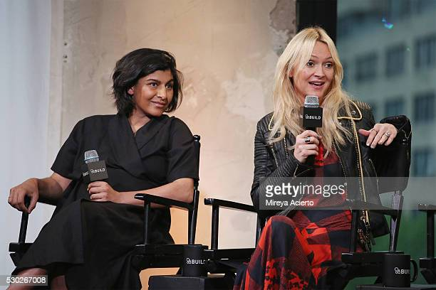Founder and CEO of Happy Family Shazi Visram and Marie Claire senior fashion editor E News fashion correspondent news Zanna Roberts Rassi discuss...