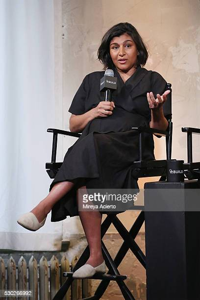 Founder and CEO of Happy Family Shazi Visram discusses being a working mother at AOL Build Speaker Series with author Alicia Ybarbo on May 10 2016 in...