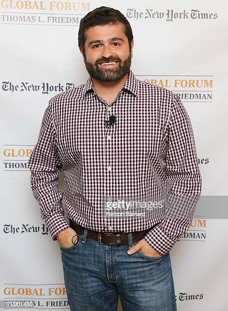 Founder and CEO of Indiegogo, Slava Rubin attends The New York Times Global Forum with Thomas L. Friedman at the Metreon on June 20, 2013 in San...