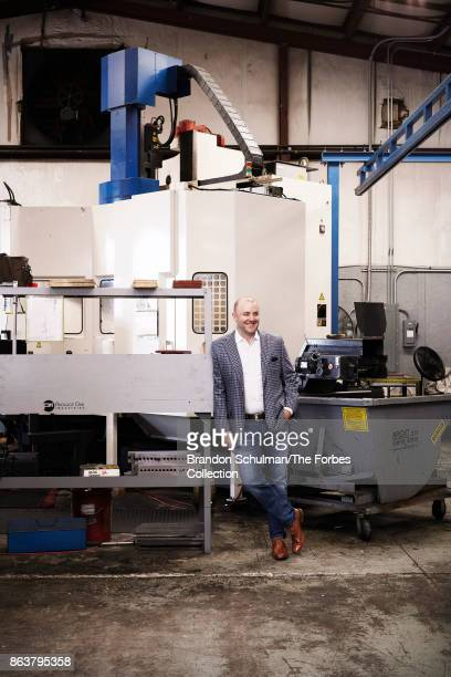 Founder and CEO of P1Industries David Dussault is photographed for Forbes Magazine on April 10, 2017 in Schenectady, New York. PUBLISHED IMAGE....