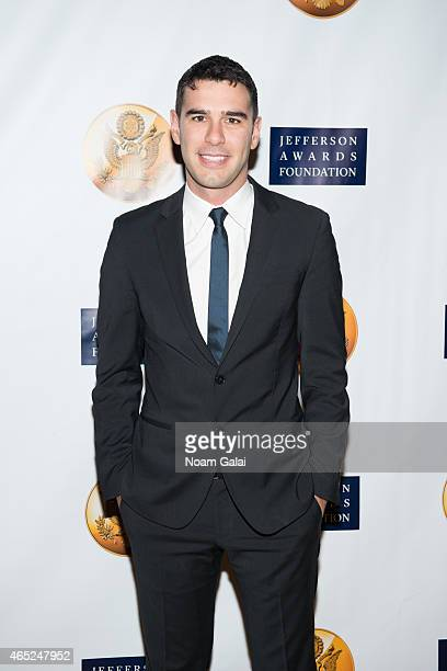 Founder and CEO of Pencils of Promise Adam Braun attends the 2015 Jefferson Awards Foundation New York Ceremony at Gotham Hall on March 4 2015 in New...