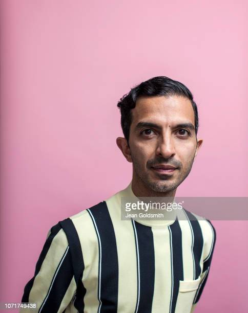 Founder and CEO of the Business of Fashion Imran Amed is photographed for the Observer on May 7 2018 in London England