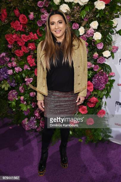 Founder and CEO of The Giving Back Foundation Meera Gandhi attends the Maestro Cares Third Annual Gala Dinner at Cipriani Wall Street on March 8 2018...