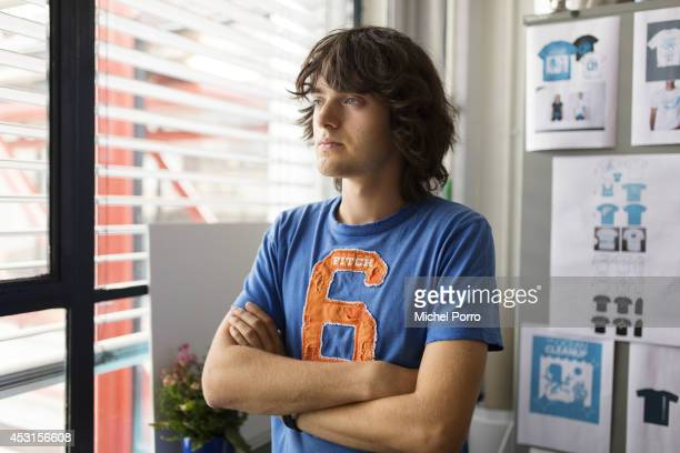 Founder and CEO of The Ocean Cleanup Boyan Slat is photographed at his office on July 25th 2014 The Ocean Cleanup performs research in the fields of...