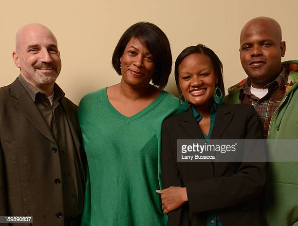 Founder and CEO of the Southern Public Defender Training Center Jonathan Rapping director Dawn Porter and documentary subjects Brandy Alexander and...