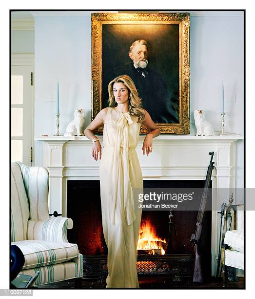 Founder and CEO of Vensette Lauren Remington Platt is photographed for Vanity Fair Magazine on January 6 2010 in Morristown New Jersey Published image