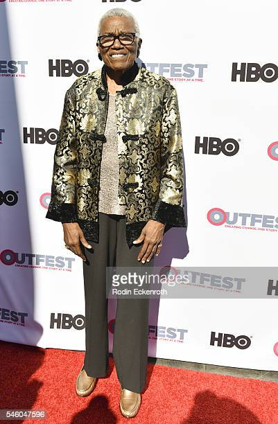 Founder and CEO of VHF Jewel ThaisWilliams attends 2016 Outfest Los Angeles LGBT Film Festival screening of Jewels Catch One at Harmony Gold Theatre...