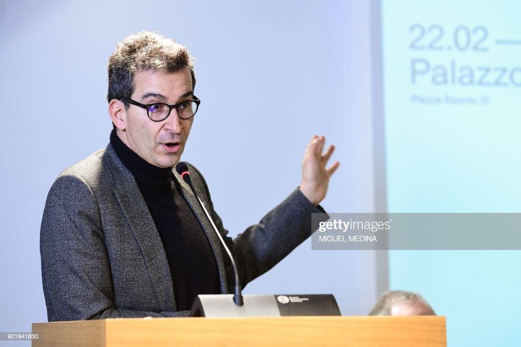 FASHION-ITALY-ITALIANA-PRESSER-EXHIBITION : News Photo