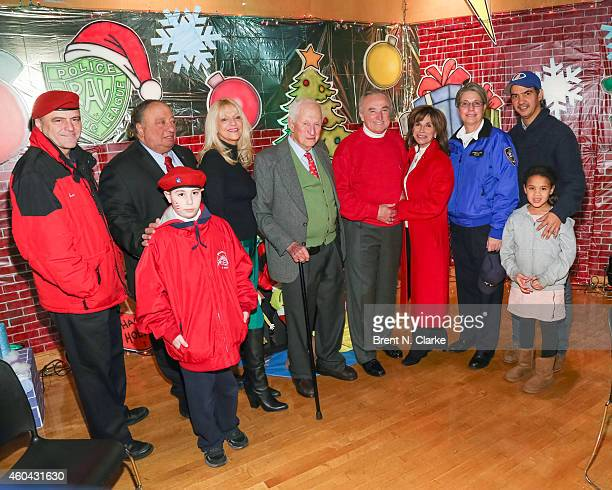 Founder and CEO The Guardian Angels Curtis Sliwa Police Athletic League board members/holiday party chairs John and Margo Catsimatidis PAL honorary...