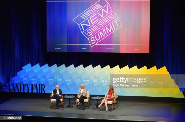 Founder and Chairman of the Board at NewTV Jeffrey Katzenberg CEO at NewTV Meg Whitman and Senior Media and entertainment reporter at CNBC Julia...