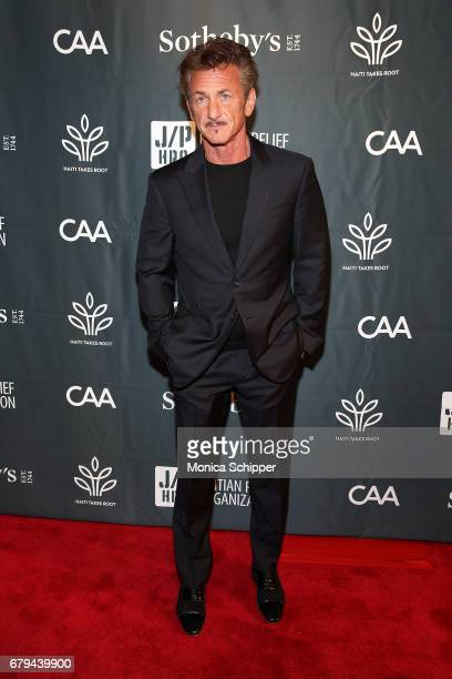 Founder and Chairman of the Board of J/P HRO and AmbassadoratLarge for Haiti actor Sean Penn attends The Sean Penn Friends Haiti Takes Root Benefit...