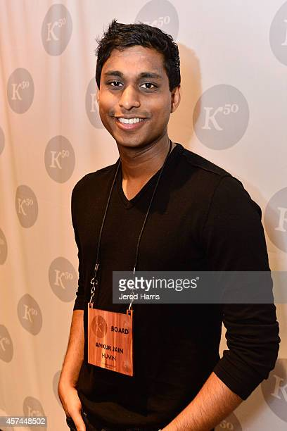 Founder and Chairman of the Kairos Society Ankur Jain attends the 2014 Kairos Global Summit at RitzCarlton Laguna Nigel on October 18 2014 in Dana...