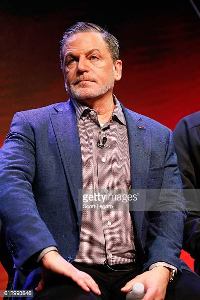 Founder and Chairman Quicken Loans and Rock Ventures Majority Owner 2016 NBA Champion Cleveland Cavaliers Dan Gilbert speaks during Autoblog UPSHIFT...