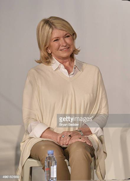Founder and Chief Creative Officer MSLO Martha Stewart speaks on stage during Martha Stewart American Made Summit at Martha Stewart Living Omnimedia...