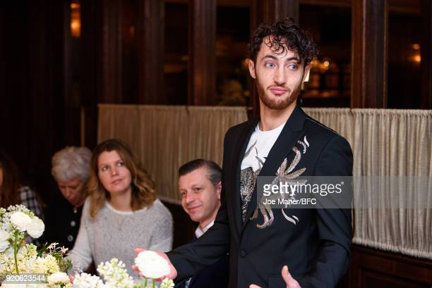 Founder and Chief Executive of the Arab Fashion Council Jacob Abrian attends the Arab Fashion Council Breakfast during London Fashion Week February...