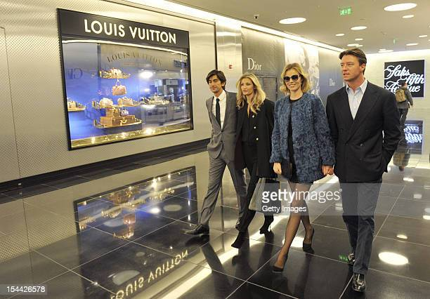 Founder and Chief Executive Officer of Capital Partners Burak Oymen model Teresa Maxova supermodel Eva Herzigova and Gregorio Marsiaj dazzle at a VIP...
