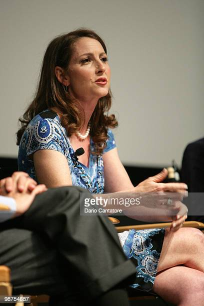 Founder and Chief Executive Officer of Success Charter Network Eva Moskowitz attends the Tribeca Talks The Lottery during the 2010 Tribeca Film...