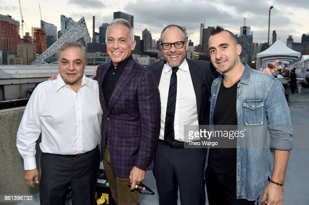 Founder and director of the Food Network Cooking Channel New York City Wine Food Festival presented by CocaCola Lee Schrager Geoffrey Zakarian Alton...