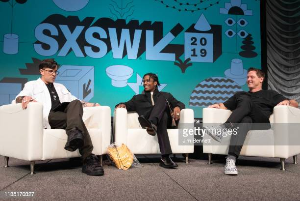 Founder and editorinchief of Cool Hunting Josh Rubin interviews rapper actor and creative director A$AP Rocky and Daimler AG Chief Design Officer...