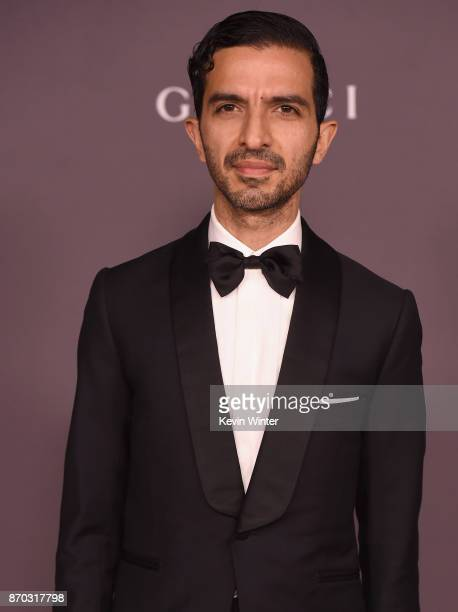 Founder and editorinchief of The Business of Fashion Imran Amed attends the 2017 LACMA Art Film Gala Honoring Mark Bradford And George Lucas at LACMA...