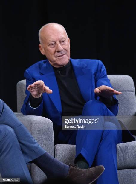 Founder and Executive Chairman of Foster and Partners Lord Foster of Thames Bank OM speaks onstage at WIRED Business Conference Presented By Visa At...