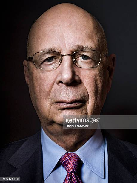 Founder and executive chairman of the World Economic Forum Klaus Schwab is photographed for Wall Street Journal on March 19 2014 in New York City...