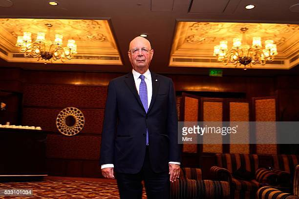 Klaus Schwab Stock Photos and Pictures   Getty Images