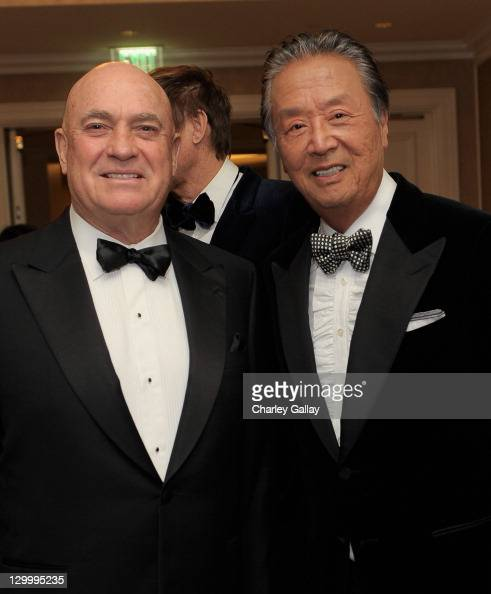 Founder And Gala Sponsor Jerry Brassfield And Kok Founder George