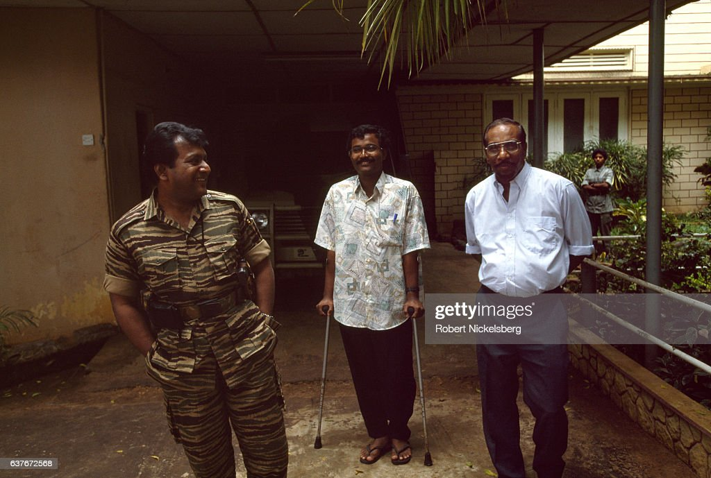 Velupillai Prabhakaran Speaks With Anita Pratap Of Time Magazine In Jaffna : News Photo