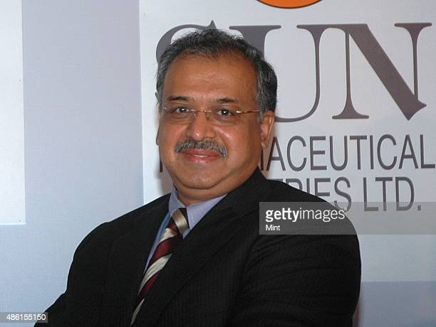 Founder and Managing Director of Sun Pharmaceuticals Dilip Shanghvi during a press conference to announce the joint venture between the Merk & Co....
