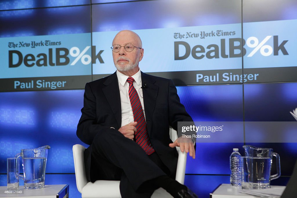 The New York Times 2014 DealBook Conference : News Photo