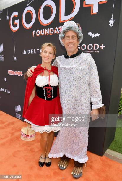 Founder and President GOOD Foundation Jessica Seinfeld and Chair of Fatherhood Leadership Council GOOD Foundation Jerry Seinfeld attend the 2018 GOOD...