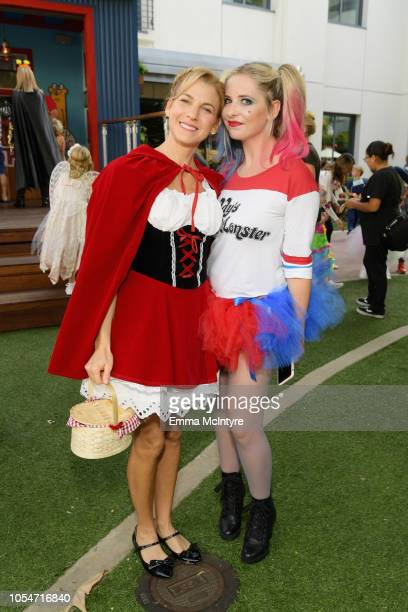Founder and President GOOD Foundation Jessica Seinfeld and Sarah Michelle Gellar attend the 2018 GOOD Foundation's 3rd Annual Halloween Bash...