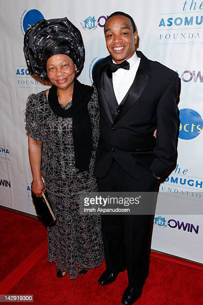 Founder and President of Orphans and Widows In Need Dr Lilian Asomugha and Mental Health Advocate Jordan Burnham attend the 6th Annual Asomugha...